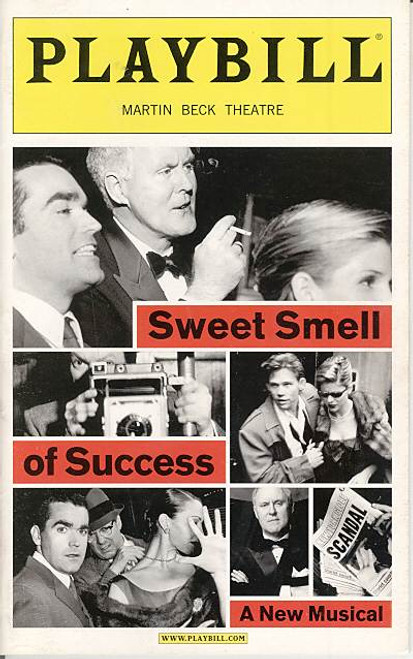 Sweet Smell of Success (Mar 2002) John Lithgow, Brian d'Arcy James Martin Beck Theatre