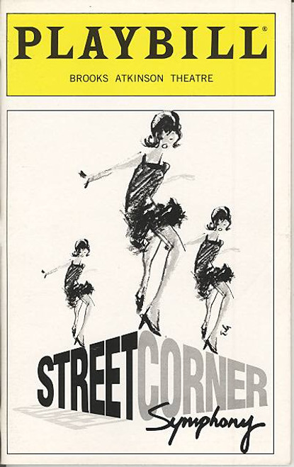 Street Corner (Dec 1997) Carol Dennis, Victor Trent Cook, Stacy Francis Brooks Atkinson Theatre
