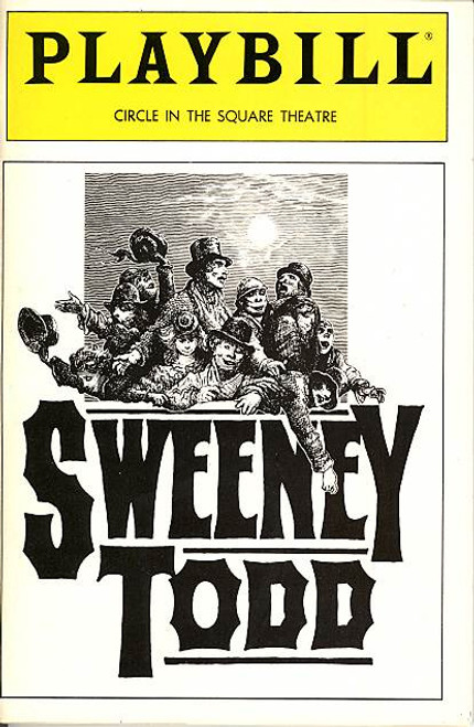Sweeney Todd (Jan 1990) Bob Gunton , Beth Fowler, David Barron Circle in the Square Theatre