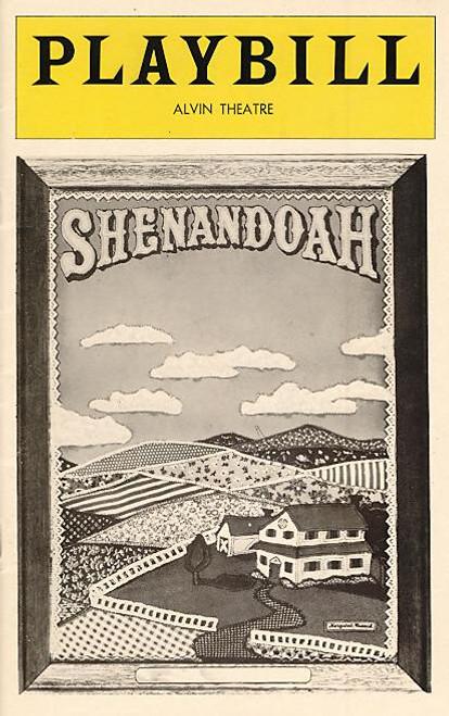 Shenandoah (Aug 1976) John Cullum, Donna Theodore - Alvin Theatre