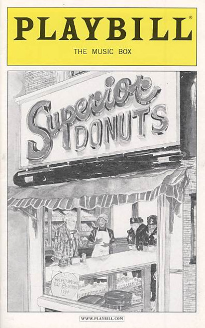 Superior Donuts by Tracy Letts (Dec 2009)   Jane Alderman - The Music Box