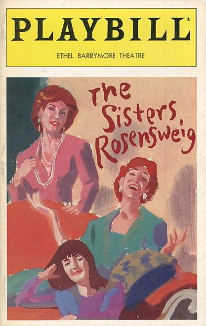 The Sisters Rosensweig (Mar 1994) Michael Learned - Ethel Barrymore Theatre
