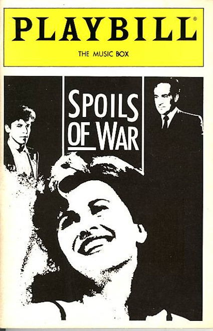 Spoils of War (Nov 1988) Kate Nelligan, Jeffrey De Munn, Christopher Collet The Music Box Theatre