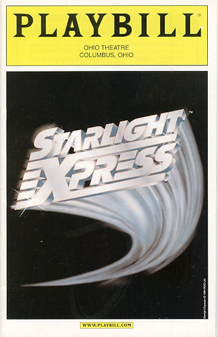 Starlight Express (Apr 2004) Franklyn Warfield, Clarissa Grace Ohio Theatre Columbus, Ohio