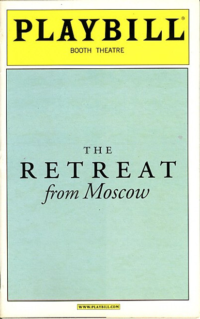 The Retreat from Moscow (Play) John Lithgow, Eileen Atkins - Booth Theatre
