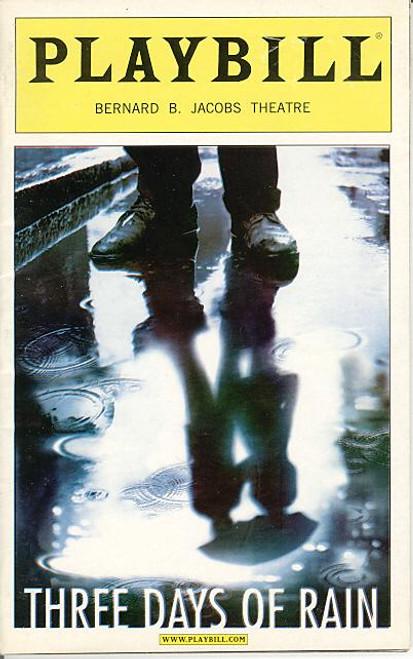 Three Days of Rain (Play) Julia Roberts, Paul Rudd, Bradley Cooper,Michael Dempsey - Bernard B Jacobs Theatre (Jun 2006)