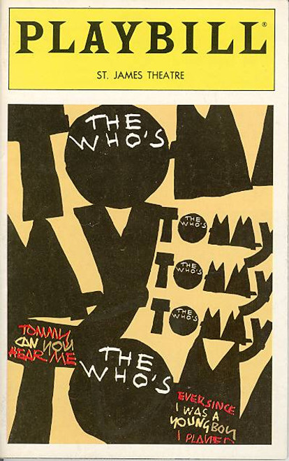 Tommy (Musical) Michael Cerveris, Bill Buell, Maria Calabrese, Paul Dobie  St James Theatre