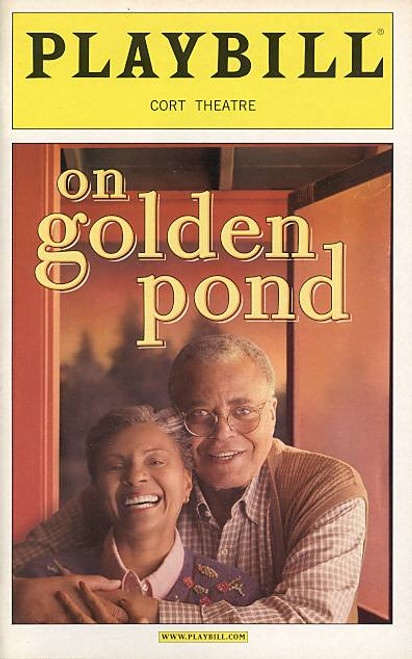 On Golden Pond (Play) 7 April 2005  James Earl Jones. Leslie Uggams Cort Theatre