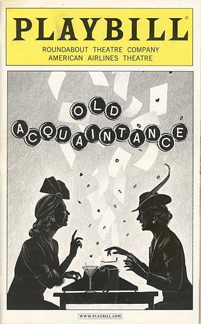 Old Acquaintance (Play)   Margaret Colin, Harriet Harris, Stephen Bogardus American-Airlines-Theatre