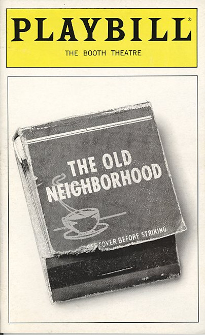 The Old Neighborhood (Play) by David Mamet - Patti LuPone, Peter Riegert, Vincent Guastaferro Booth Theatre