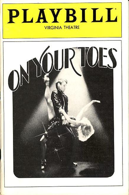On Your Toes (Musical) Natalia Makarova, George S Irving, Dina Merrill, George De La Pena Virginia Theatre
