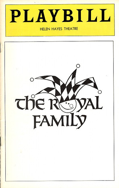 The Royal Family (Play)   Rosemary Harris, Eva LeGallienne, Ellis Rabb Helen Hayes Theatre