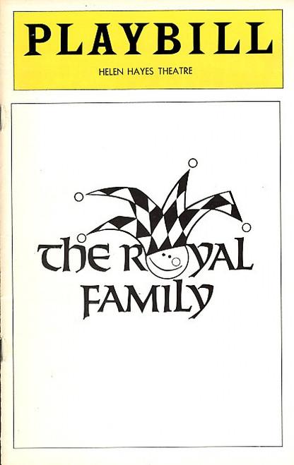The Royal Family (Play)   Rosemary Harris, Eva LeGallienne, Ellis Rabb Helen Hayes Theatre