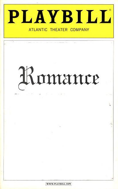 Romance (Play) by David Mamet Bob Balaban, Larry Bryggman, Jim Frangione Atlantic Theatre Company