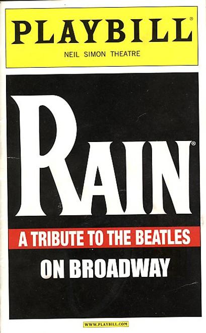 Rain (Musical) Steve Landes, Joey Curatolo - Neil Simon Theatre