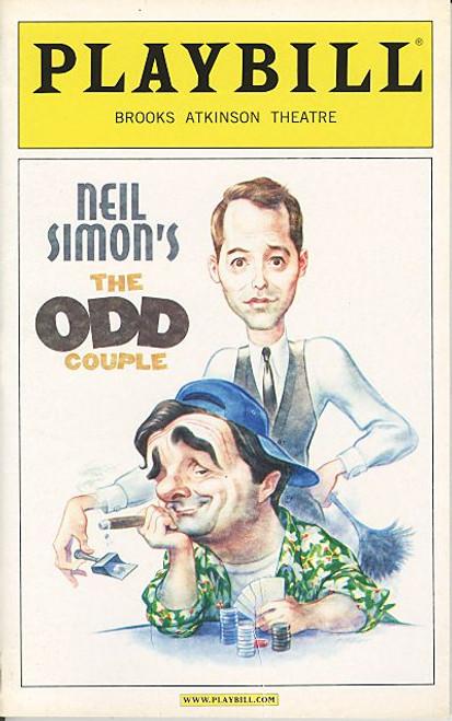 The Odd Couple (Play) Oct 2005 Nathan Lane,Matthew Broderick - Brooks Atkins Theatre