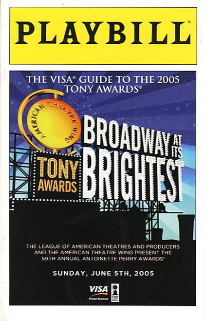 Tony Awards June 2005 (USA Awards Show) Host Hugh Jackman and Billy Crystal - Radio City Hall