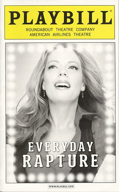 Everyday Rapture (May 2010) Sherie Rene Scott - American Airlines Theatre