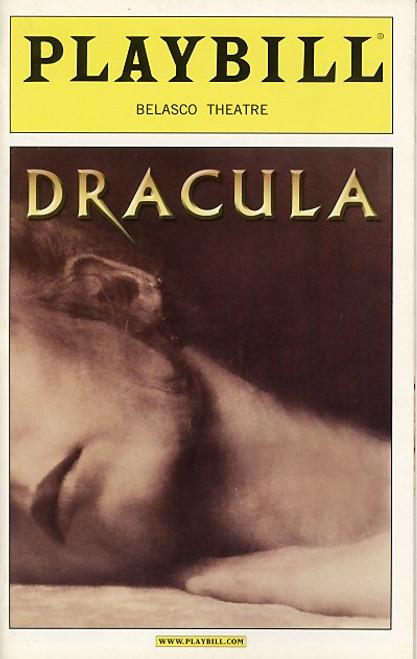 Dracula the Musical (Nov 2004) Tom Hewitt – Belasco Theatre Dracula, the Musical is a musical based on the original Victorian novel by Bram Stoker.