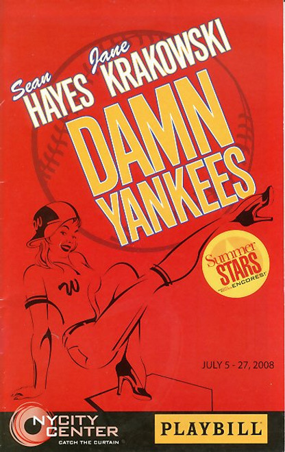 Damn Yankees (Jul 2008) Sean Hayes, Jane Krakowski, Cheyenne Jackson,Randy Graff  - Encores Series
