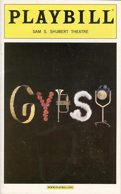 Gypsy (Apr 2003) Bernadette Peters, Tammy Blanchard, John Dossett Sam S. Shubert Theatre