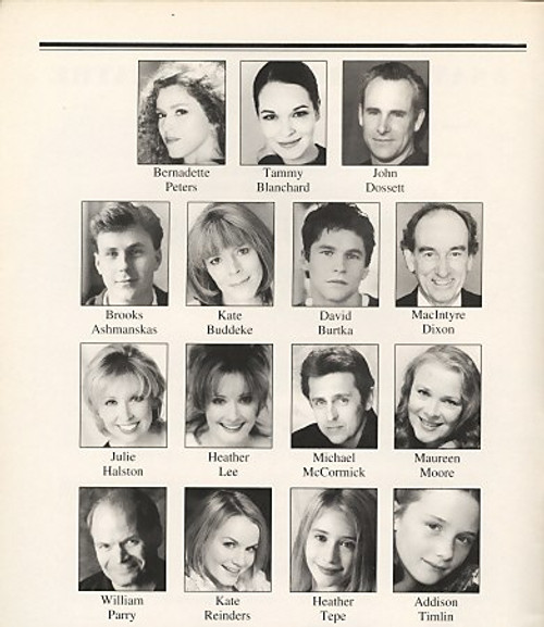 Gypsy (Jul 2003) Bernadette Peters, Tammy Blanchard, John Dossett Sam S. Shubert Theatre
