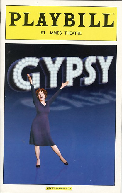 Gypsy (Mar 2008) Patti LuPone, Boyd Gaines, Laura Benanti, Leigh Ann Larkin St James Theatre