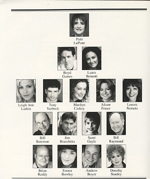 Gypsy(Apr 2008) Patti LuPone, Boyd Gaines, Laura Benanti, Leigh Ann Larkin St James Theatre