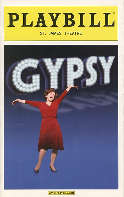 Gypsy (Jun 2008) Patti LuPone, Boyd Gaines, Laura Benanti St James Theatre