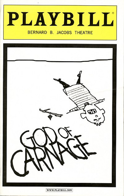 God of Carnage (Mar 2010)   Jeff Daniels, Dyan Baker Bernard B Jacobs Theatre