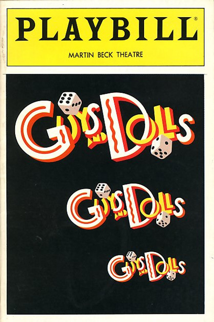 Guys and Dolls (Jul 1992) Peter Gallagher, Nathan Lane Martin Beck Theatre
