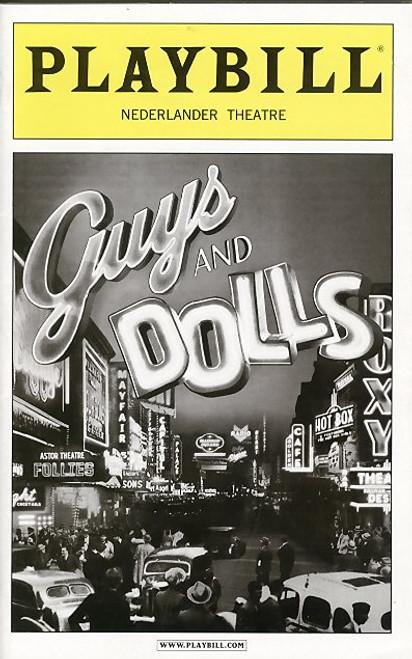 Guys and Dolls (May 2009) Oliver Platt, Craig Bierko, Oliver Platt, Lauren Graham Nederlander Theatre