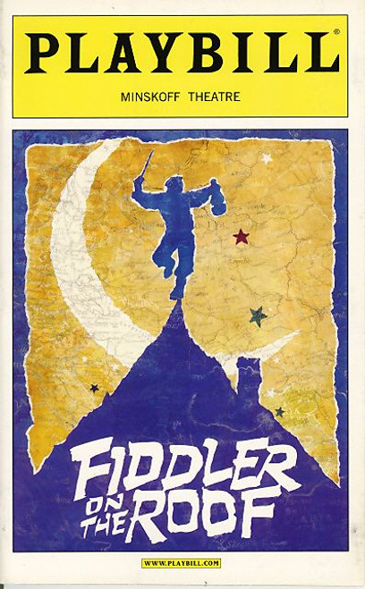 Fiddler on the Roof (Feb 2004) Alfred Molina, Randy Graff, Stephen Lee Anderson Minskoff Theatre