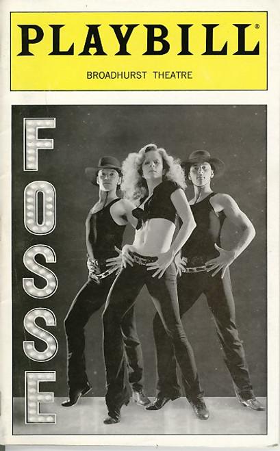 Fosse (Jun 2000) Stephanie Pope, Dylis Croman, Eugene Fleming, Mary MacLeod Broadhurst Theatre