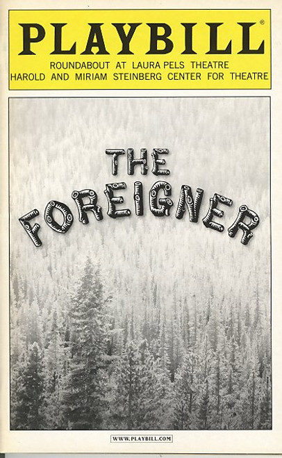 The Foreigner (Nov 2004) Matthew Broderick Roundabout Laura Pels Theatre