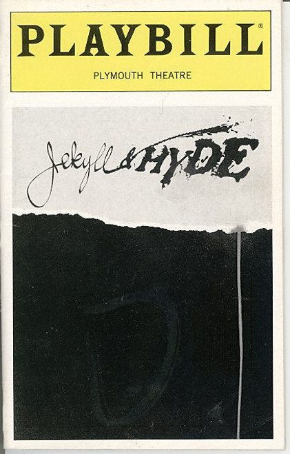 Jekyll and Hyde (Mar 1998 Musical) Robert Cuccioli, Linda Eder, Christiane Noll Plymounth Theatre