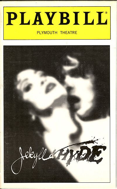 Jekyll and Hyde (Jan 2000) Jack Wagner, Coleen Sexton, Andrea Rivette Plymouth Theatre