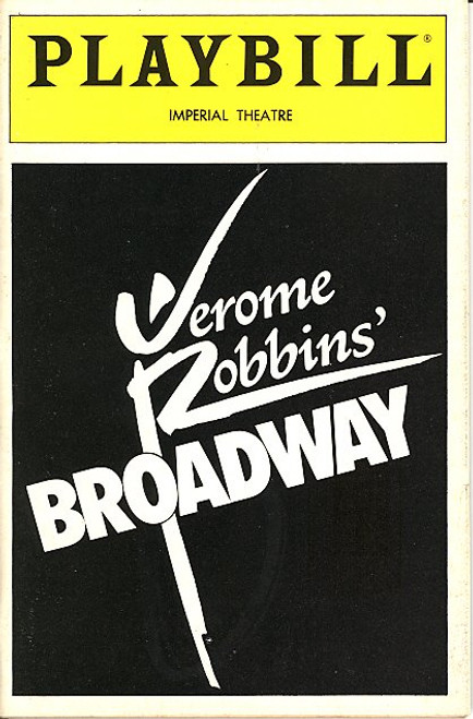 Jerome Robbins Broadway (Aug 1989) Jason Alexander, Robert La Fosse, Susann Fletcher Imperial Theatre