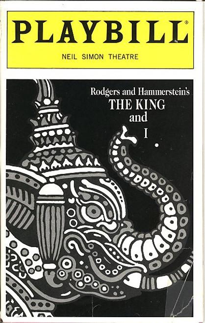 The King and I (Mar 1998) Marie Osmond - Neil Simon Theatre