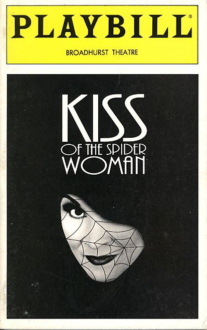 Kiss of the Spider Woman (Dec 1993) Jeff Hyslop, Anthony Crivello, Merle Louise Broadhurst Theatre