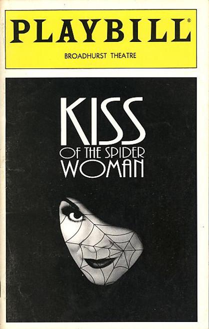 Kiss of the Spider Woman (Nov 1994) Vanessa Williams, Howard Mcgillin, Brian Mitchell Broadhurst Theatre