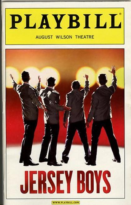 Jersey Boys (Jul 2008) Sebastian Arcelus, Christian Hoff, J Robert Spencer, Michael Longoria August Wilson Theatre