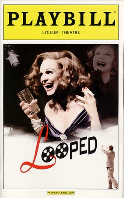 Looped by Matthew Lombardo (Feb 2010 Play)   Valerie Harper, Brian Hutchison Lyceum Theatre