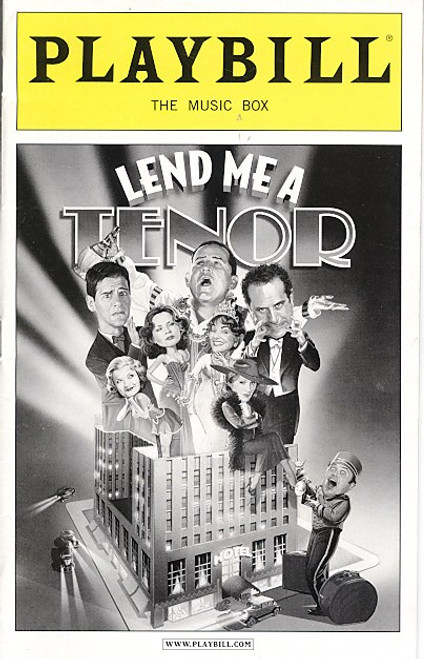Lend Me A Tenor (April 2010) Anthony LaPaglia The Music Box