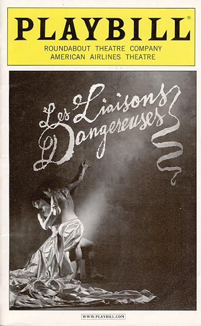 Les liaisons dangereuses ( Apr 2008 Play) Laura Linney, Ben Daniels American Airlines Theatre