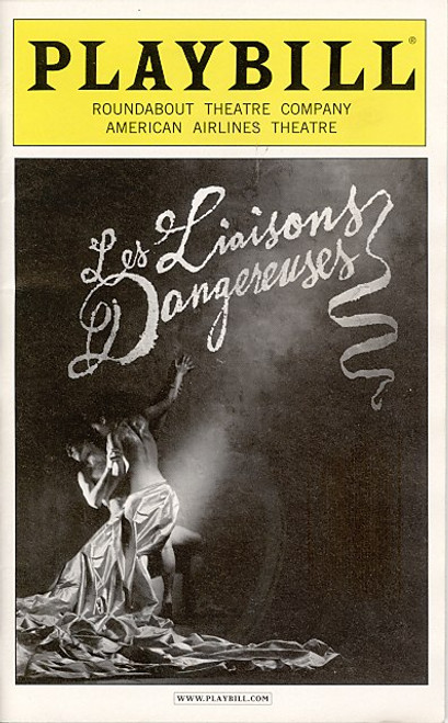 Les liaisons dangereuses ( Jun 2008 Play) Laura Linney, Ben Daniels - American Airlines Theatre