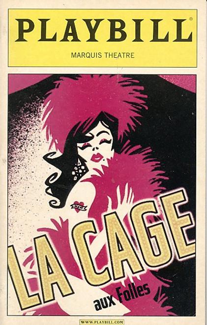 La Cage Aux Folles (Nov 2004) Gary Beach, Daniel Davis, Gavin Creel, Angela Gaylor Marquis Theatre