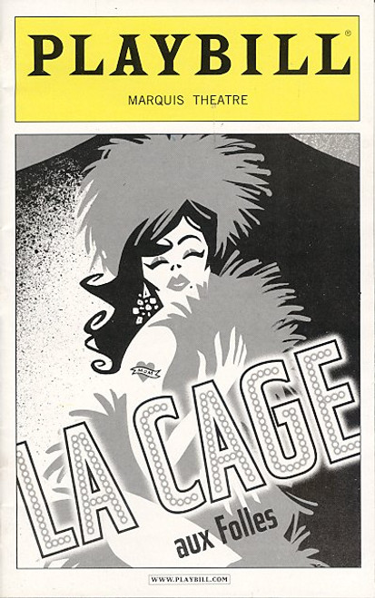 La Cage Aux Folles (Jan 2005) Gary Beach, Daniel Davis, Gavin Creel, Angela Gaylor Marquis Theatre