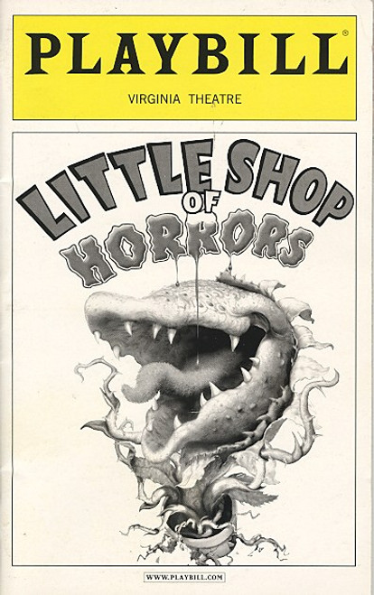Little Shop of Horrors (Dec 2003) Hunter Foster, Kerry Butler, Michael-Leon Wooley Virginia Theatre