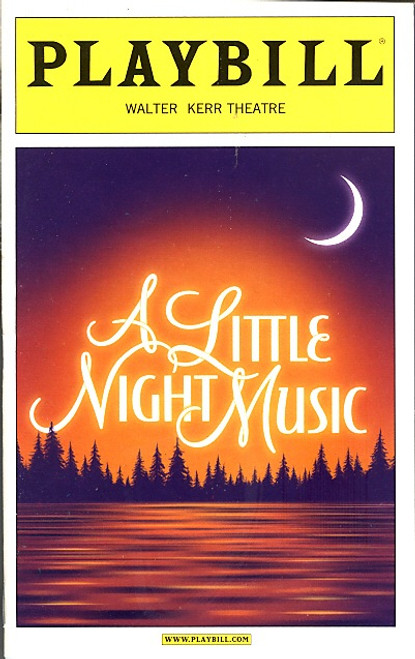 A Little Night Music ( Sept 2010 Musical) Bernadette Peters, Elaine Stritch Walter Kerr Theatre
